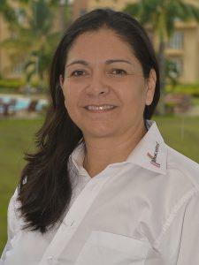 María Elizabeth Buriticá Henao, Capacitadora en los cursos de HoCoTec en los procesos de evaluación y procesamiento de semen porcino.